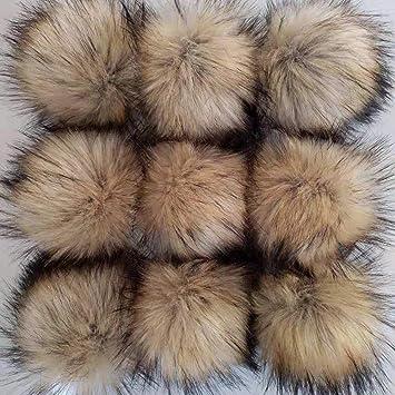 Amazon.com: CIEOVO 24 piezas de pelo sintético pompón bola ...