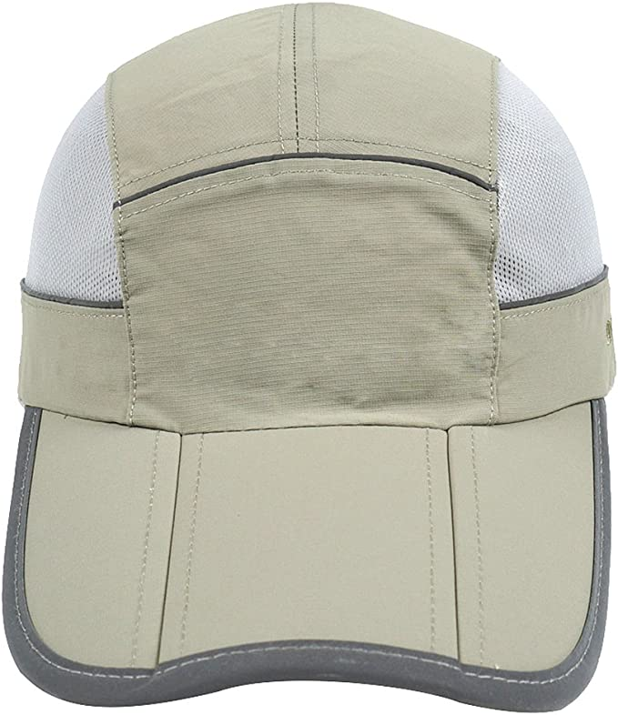 WISHDIAM Adjustable Baseball Hat Mens Sports Fit Cap Classic Dark Grey Design