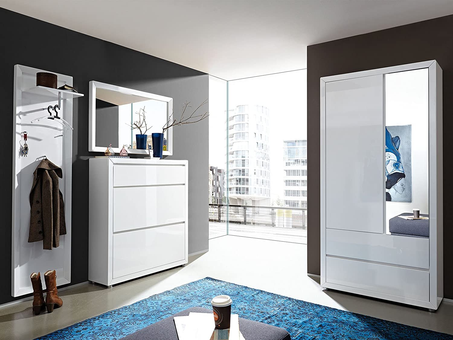 garderobe komplett set trendy garderobe komplett set with garderobe komplett set finest with. Black Bedroom Furniture Sets. Home Design Ideas