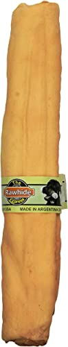 The Rawhide Express Vanilla Retriever Roll Dog Chew, 9 By 10-Inch