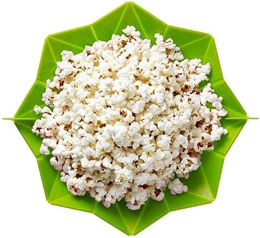 tonsee Microondas Que silicona mágica presupuesto Popcorn Maker ...