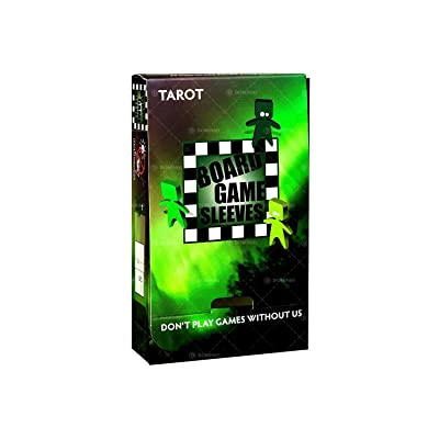 Board Game Sleeves: Tarot (Non-Glare) 70x120mm: Toys & Games