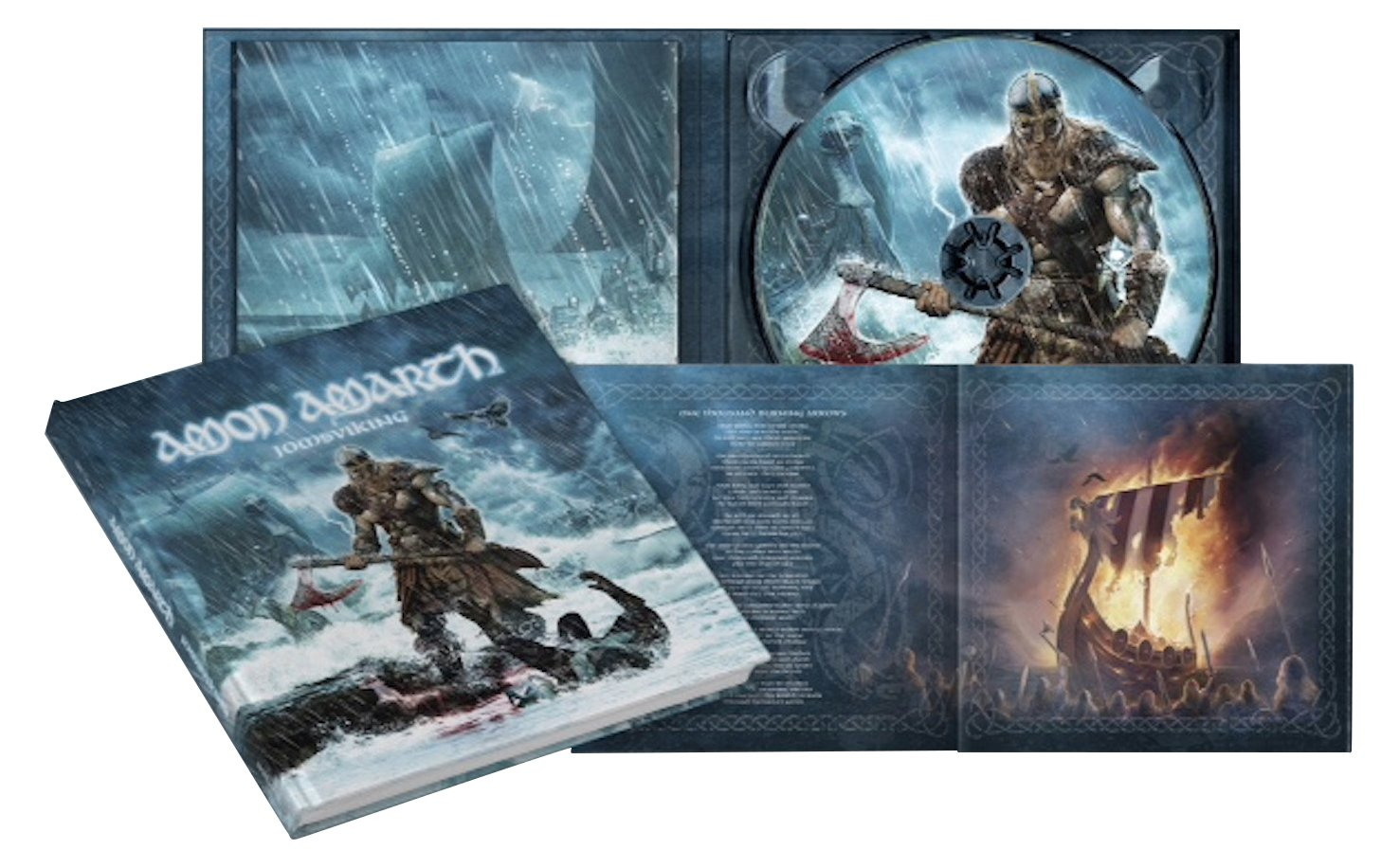 CD : Amon Amarth - Jomsviking (Deluxe Edition, Digibook Packaging)