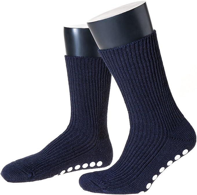 Damen Stoppersocken Thermo Socken 70/% Wolle extrem warm viele Farben 35 bis 42