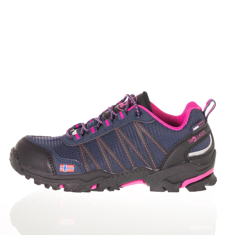 Trollkids Zapatos impermeables corte bajo Trolltunga para niños: Amazon.es: Ropa y accesorios