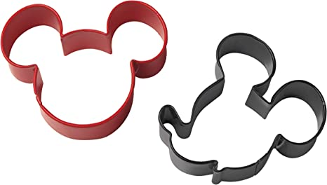 Juego De Cortadores Para Galletas Forma De Mickey Mouse Wilton Kitchen Dining