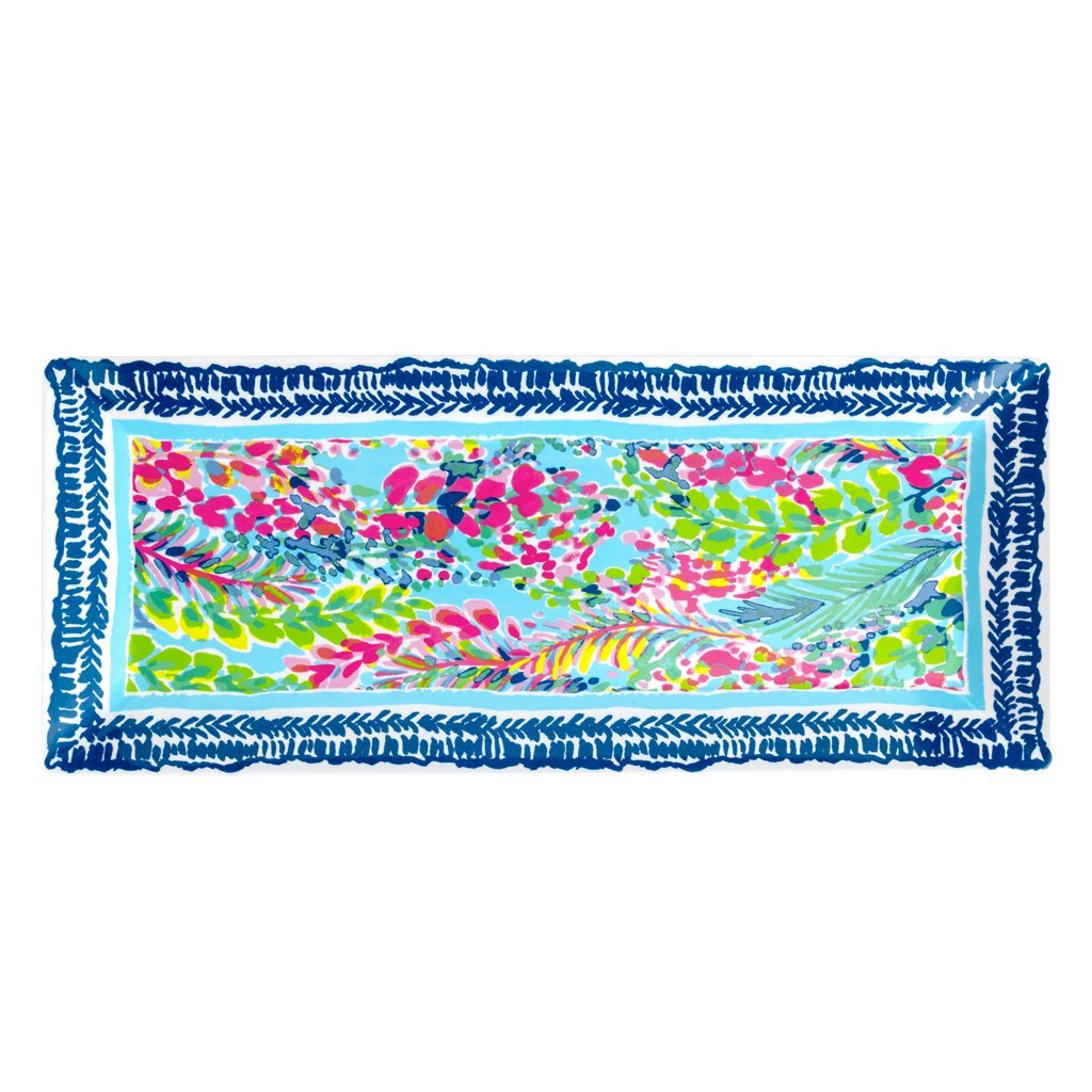 Lilly Pulitzer Serving Platter - Catch The Wave