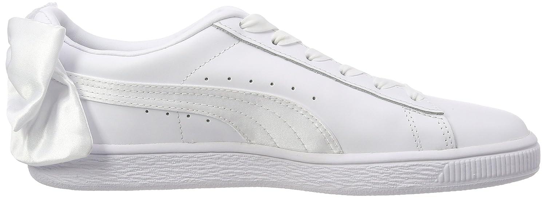 Puma Damen Basket WN's Bow WN's Basket Sneaker Weiß (Puma Weiß-puma Weiß) 9ee523