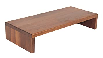 Ripiani In Legno Per Tavoli : Tavolo supporto rialzato per schermo ripiano tavolo in legno