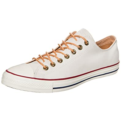 Converse All Star Ox Herren Sneaker Weiß, - beige, 44,5: Amazon.de ...
