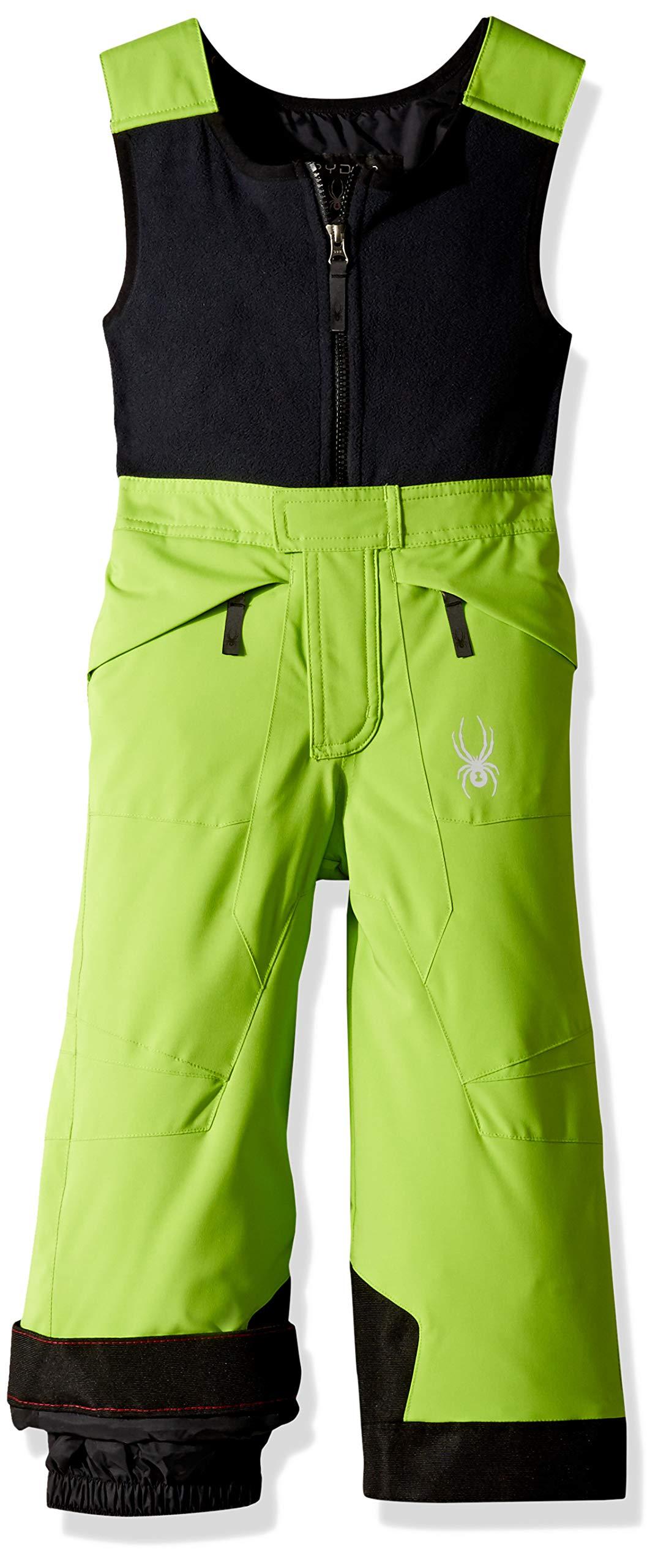 Spyder Boys' Mini Expedition Ski Pant, Fresh/Black/Black, Size 2