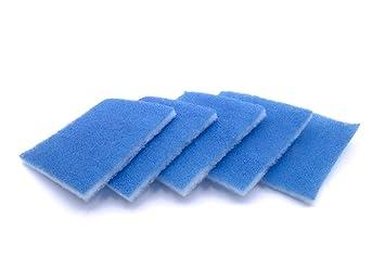 10 x Ersatzfilter Filter G3 für Limodor Compact Badlüfter Lüfter 238 x 238 mm