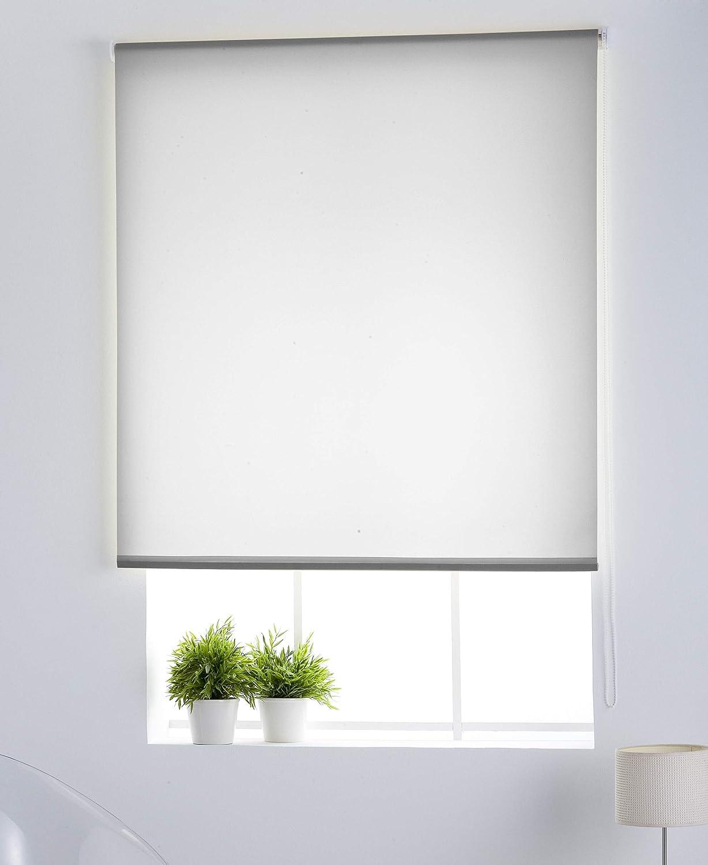 Estoralis Gove Estor Enrollable traslucido Liso Beige 110 x 175 cm Tela