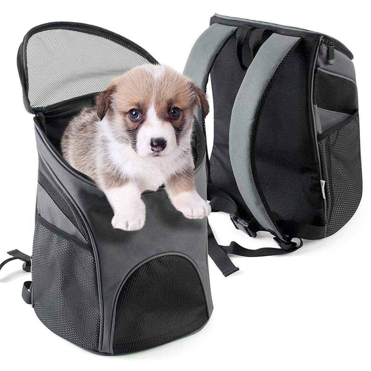 Foldable Pet Carrier Travel Handbag, Expandable Pet Carrier Bag Dog Cat Travel Carrier Bags with Padding and Extension