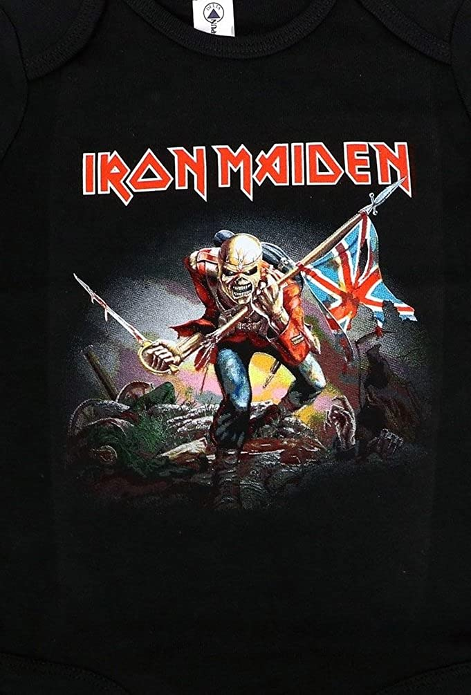 Iron Maiden Baby Infant The Trooper Creeper