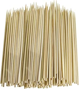 Chef Craft Thin Bamboo Skewers for BBQ, Skewer, Shish Kabobs, Appetizers, 12-Inch, 100 Pieces