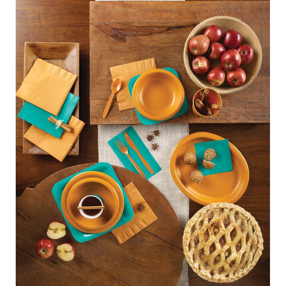 Creative Converting 28313151 Plastic Bowls 12oz Turquoise