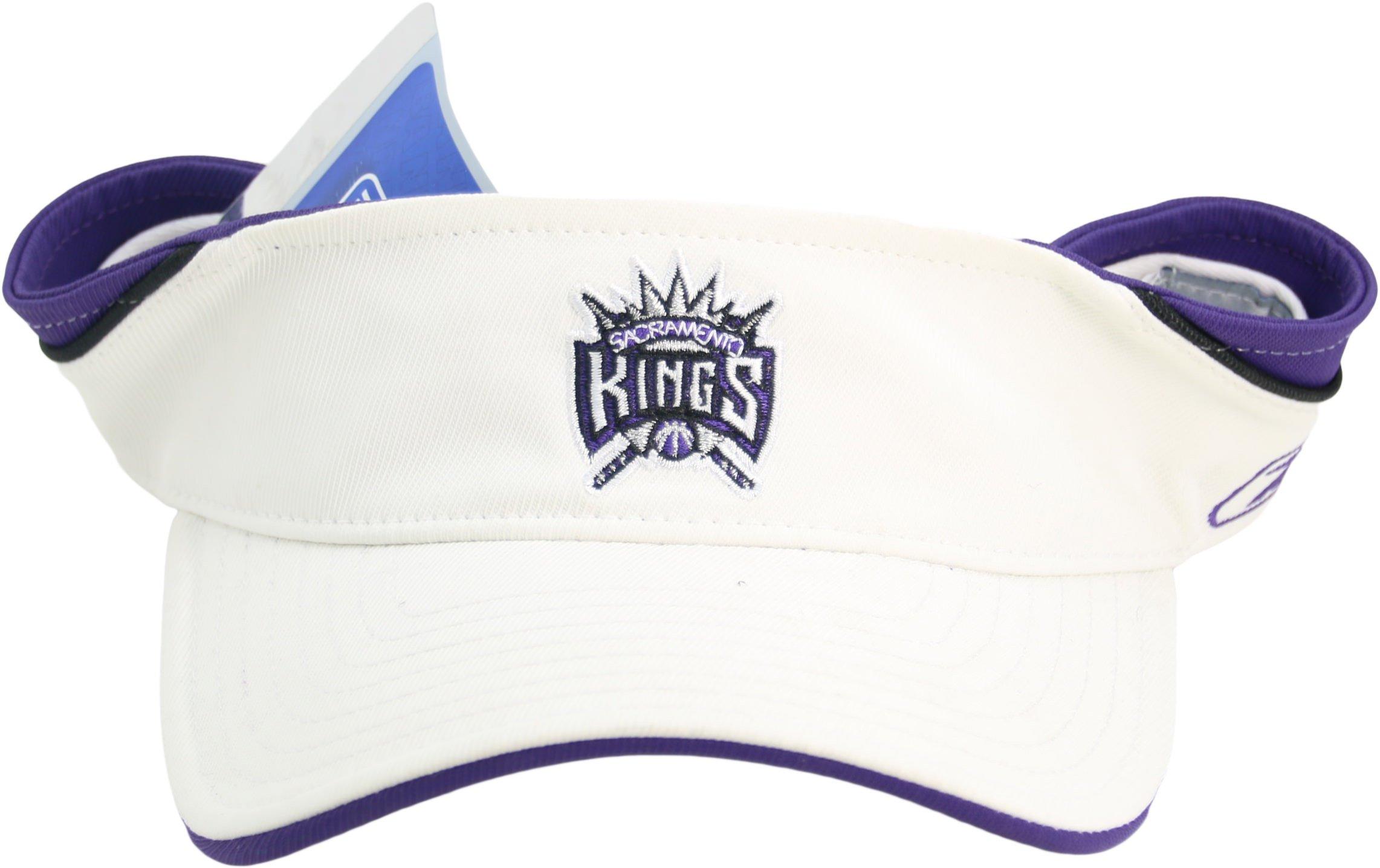 NBA Reebok Sacramento Kings ''Logo Series'' Adult Adjustable Velcro Back Visor