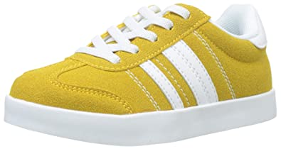 ZIPPY Boys Zapatillas De Color para Niño Low-Top Sneakers, Yellow (Golden