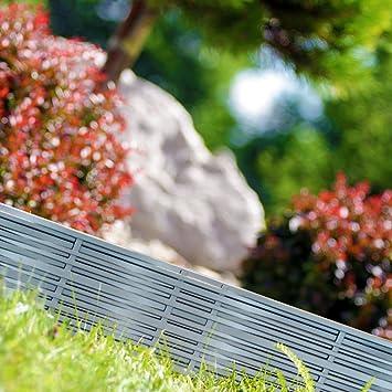 Deuba - Bordure de Jardin 7,8 m • Couleur Gris - délimitation Jardin ...