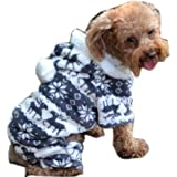 Puggy Clothes,Haoricu autumn Stylish Pet Dog Warm Clothes Puppy Jumpsuit Hoodie Coat Doggy Apparel Hoodies Costume Apparel