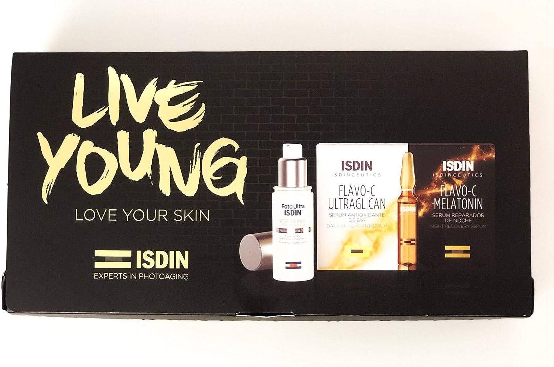 Isdin Live Young Rutina Dia y Noche Antioxidante: Amazon.es: Belleza