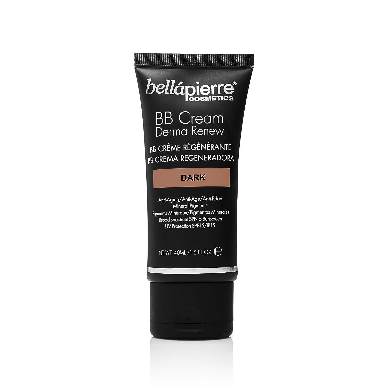 Amazon.com: Crema BB Derma renovar (oscuro) Por Bellapierre ...