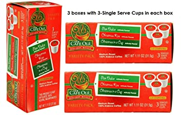 H.E.B Cafe Ole Holiday Roast k-cup Variety Pack (Pan Dulce ...