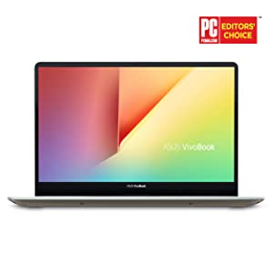 "ASUS VivoBook S15 15.6"" Slim and Portable Laptop, Intel Core i5-8250U Processor (up to 3.4Ghz), 8GB DDR4, 256GB SSD, NanoEdge Bezel, Windows 10 - S530UA-DB51-IG, Icicle Gold"