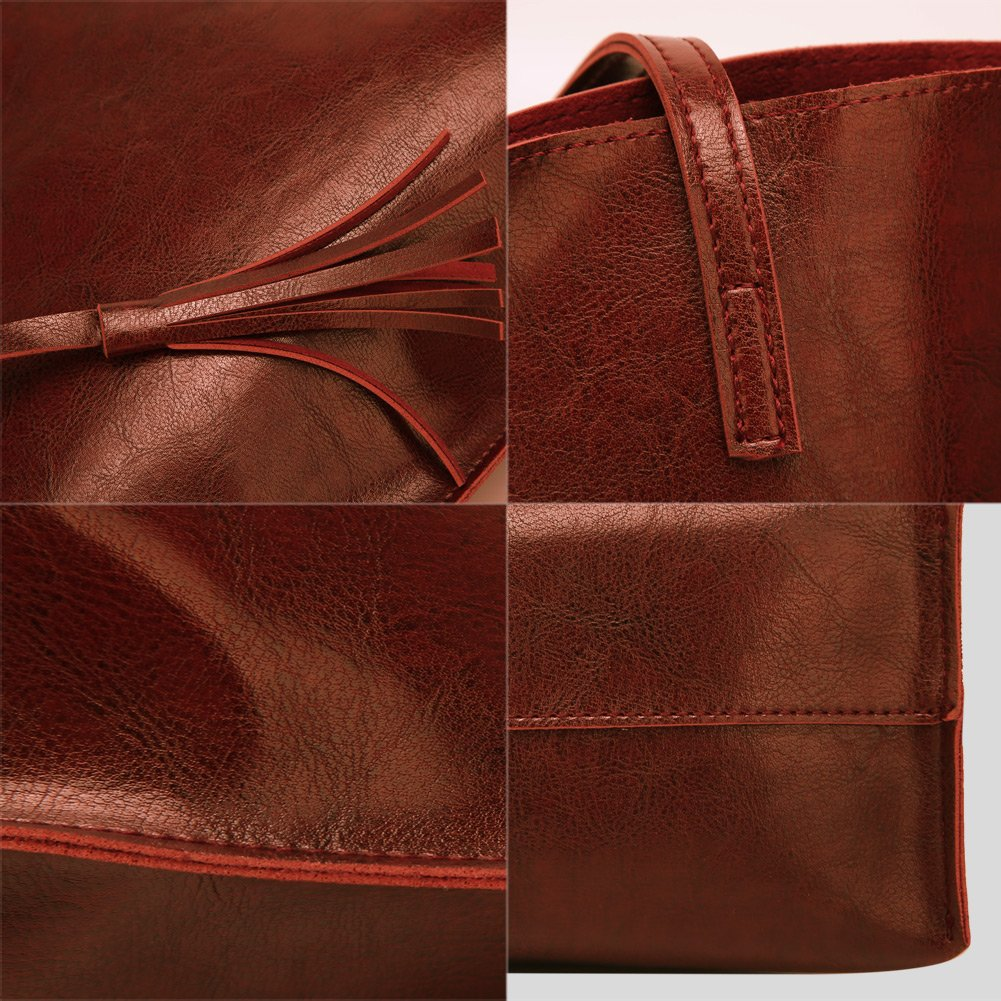 Forestfish Leather Women Tote Bag Handbags Satchel Bags for Work Travel by Forestfish (Image #6)