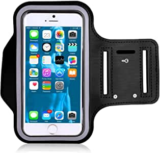 Morris Phone Armband iPhone 8 Plus Armband Also for 8, 7 Plus, 7S, 7, 6 Plus, 6S, 6, SE, 5 and Samsung Galaxy S9, S8, S7, S6 for Running, Hiking, Biking, Walking