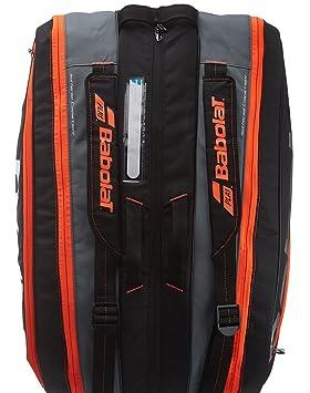 Amazon.com: Babolat Pure Raqueta de tenis titular x12, negro ...