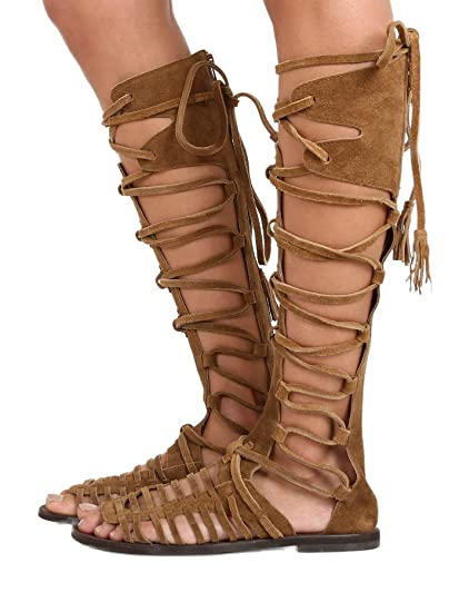 4b7558655bc Image Unavailable. Image not available for. Color  Free People Sun Seeker  Tall Sandal ...