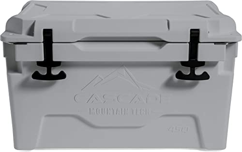Cascade Mountain Tech Heavy-Duty 45-Quart Cooler Built-in Bottle Opener for Camping