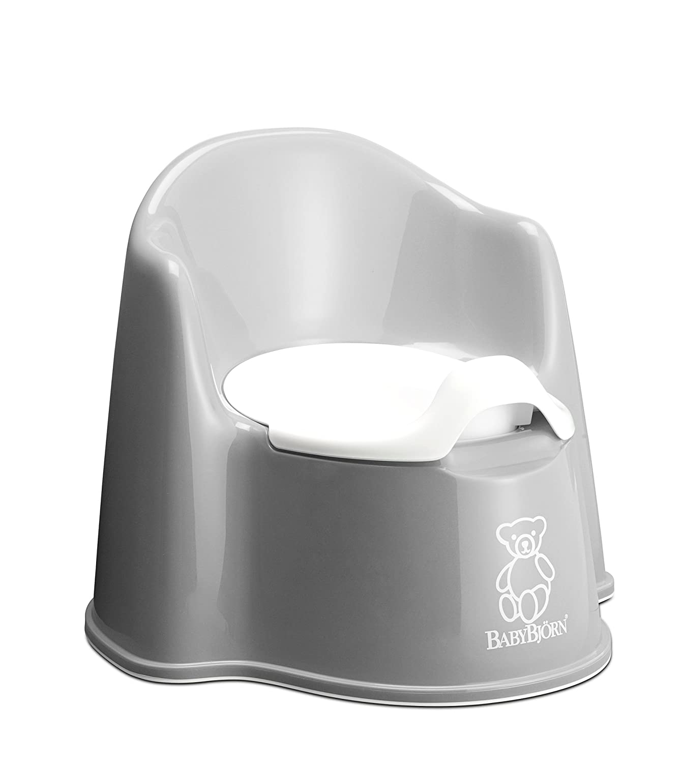 BABYBJORN Potty Chair, Gray