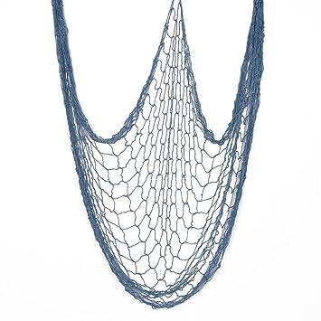 Good Fish Net Decorations,39x78 Inch Kidu0027s Room Blue Decorative Fishing Nets  Unique Home Decor Accents
