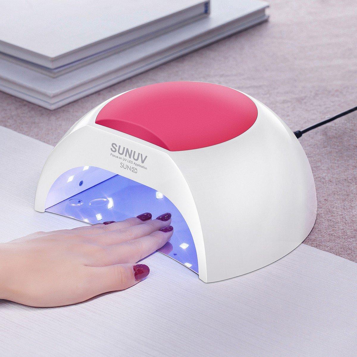 Gel UV Nail Lamp SUNUV 48W UV LED Nail Dryer Light for Gel Nails Polish Manicure Professional Salon