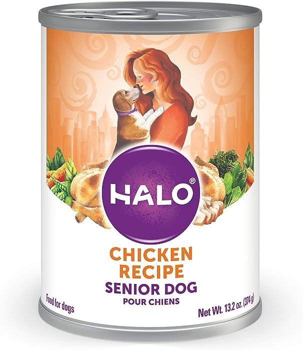 Halo Natural Wet Dog Food, Chicken Recipe