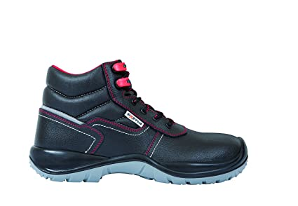Exena Sardeña - Calzado de protección laboral, talla 40, color negro