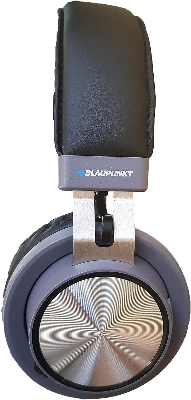 Blaupunkt BLP4100 Auricular Diadema Negro Auriculares (Diadema, Inalámbrico, Bluetooth, 20 200 Hz, 257 g, Negro)