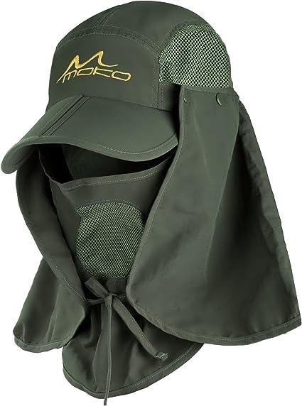 MoKo Casquette de Protection UV Sun Hat été Chapeau Pêche à Séchage Papide,...