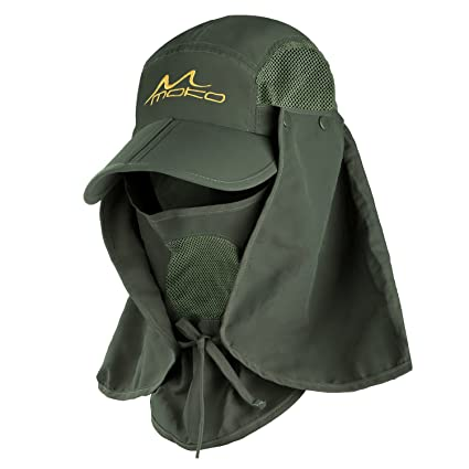 Amazon.com   MoKo Fishing Hat Sun Cap for Men Women 2c410856ed91