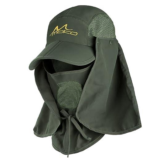27425dea9d388 Amazon.com   MoKo Fishing Hat Sun Cap for Men Women