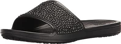 Crocs Sloane Embellished, Sandalias Flip-Flop Mujer