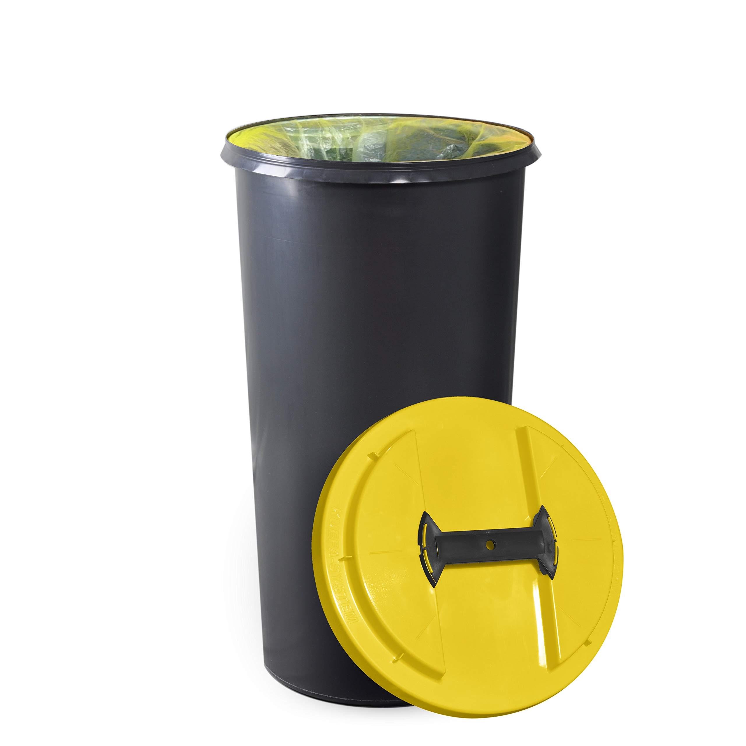 Müllständer Mülleimer Wertstoff Tonne gelb Gelber Sack Müllsackständer