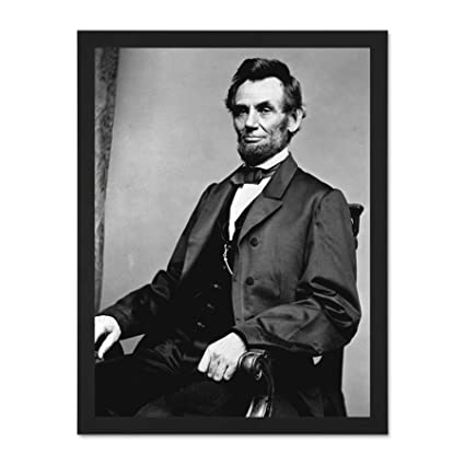 image about Printable Pictures of Abraham Lincoln named Doppelganger33 LTD Traditional Portrait Abe Abraham Lincoln President Significant Framed Artwork Print Poster Wall Decor 18x24 inch Made available Well prepared toward Dangle