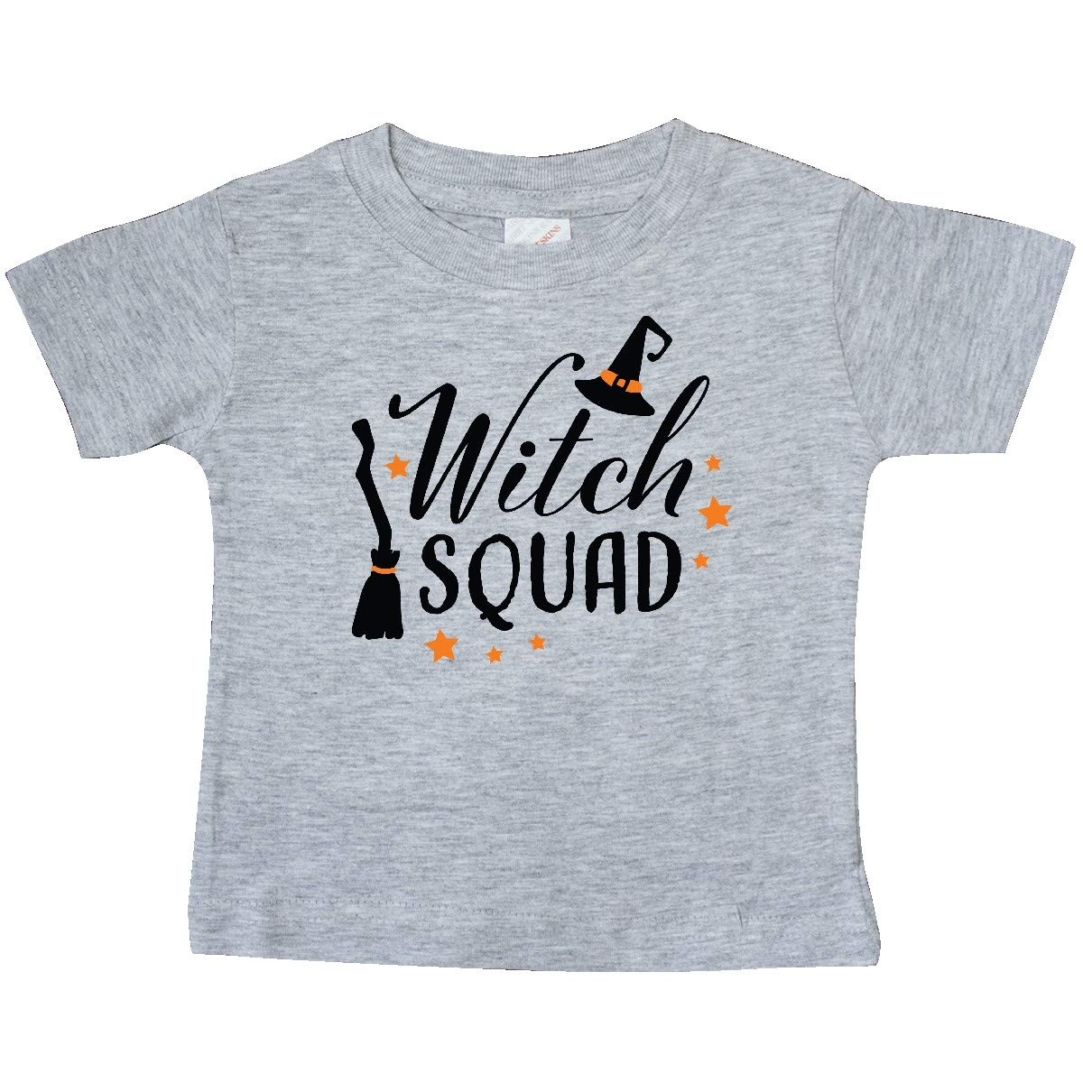 inktastic Witch Squad with Hat and Broom Baby T-Shirt