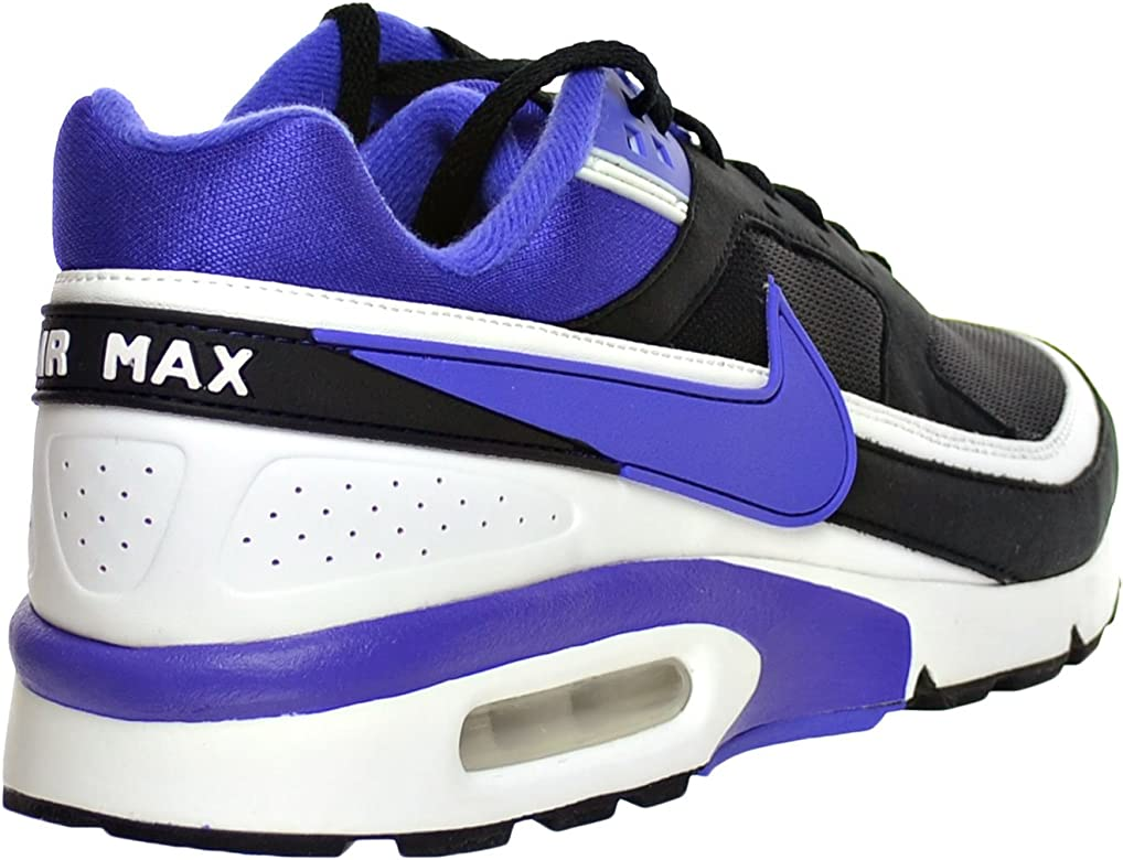 Nike Air Max BW og, zapatillas bajas hombre, (Black, Persian