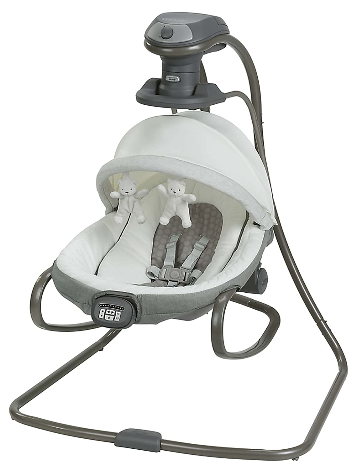 Graco Duet Oasis with Soothe Surround Baby Swing, Davis 1967060