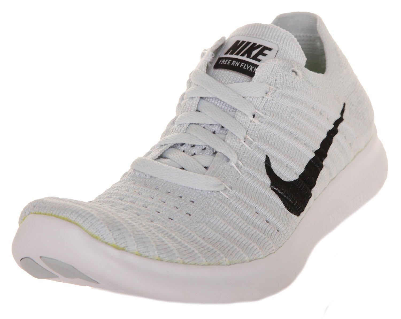 Nike Women's Free Rn Flyknit 2017 Running Shoes B01G82TCCK 7.5 B(M) US|White/Black-pure Platinum